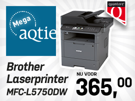 Mega-aqtie Brother laserprinter